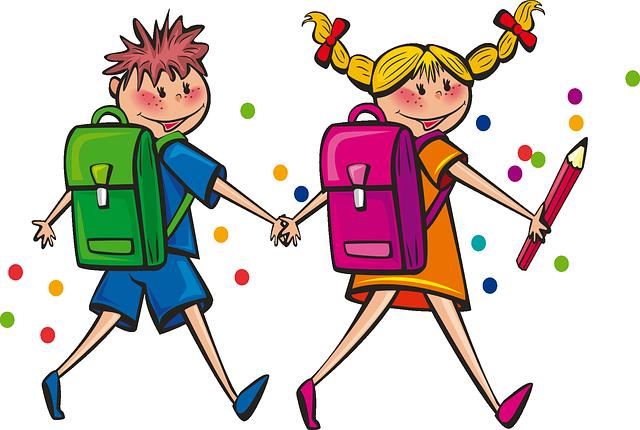 bambini tornano a scuola