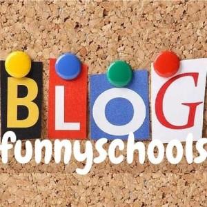 logo funny school blog
