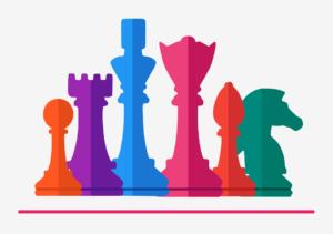 scacchi colorati